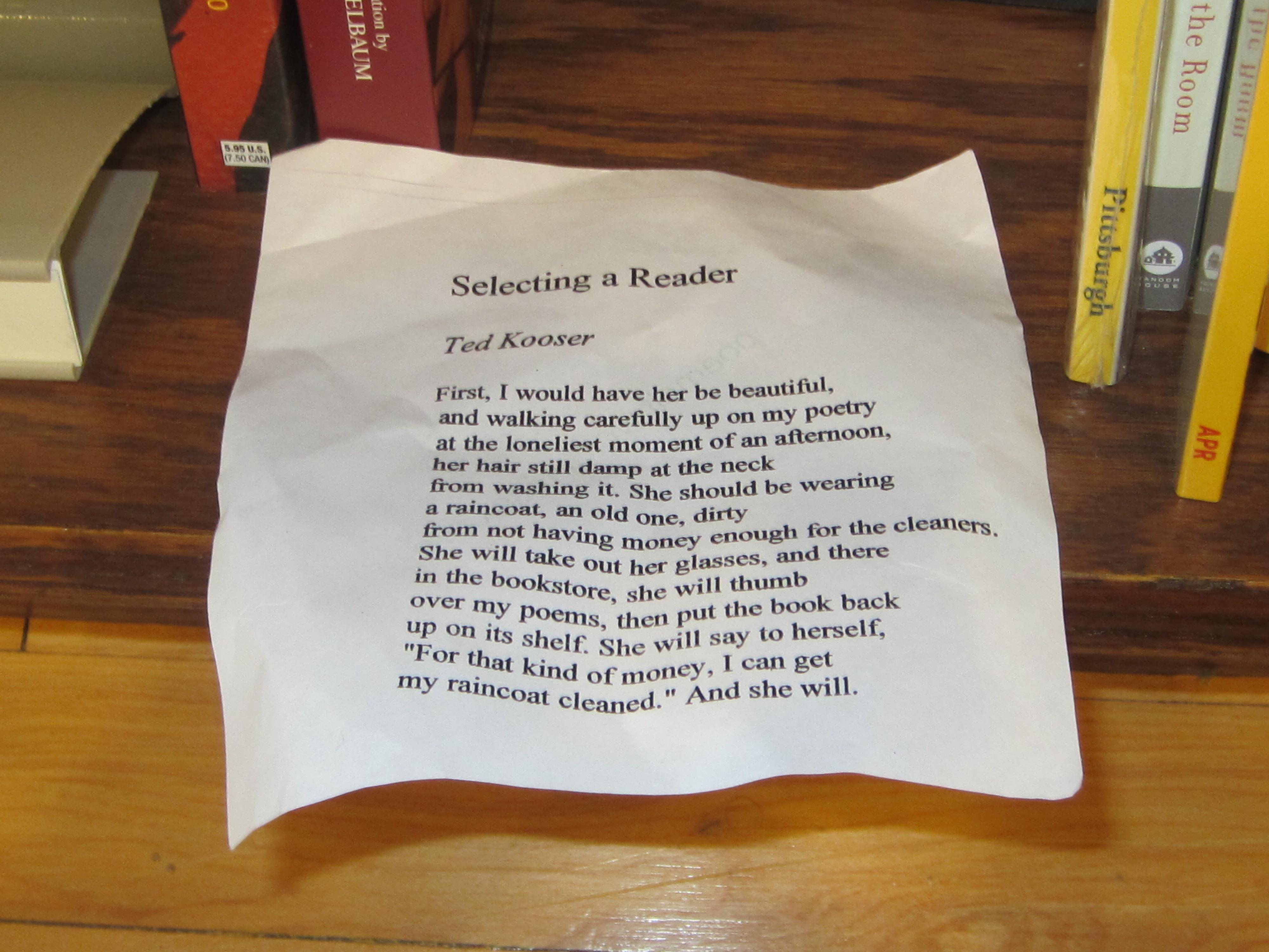 Poem Elf