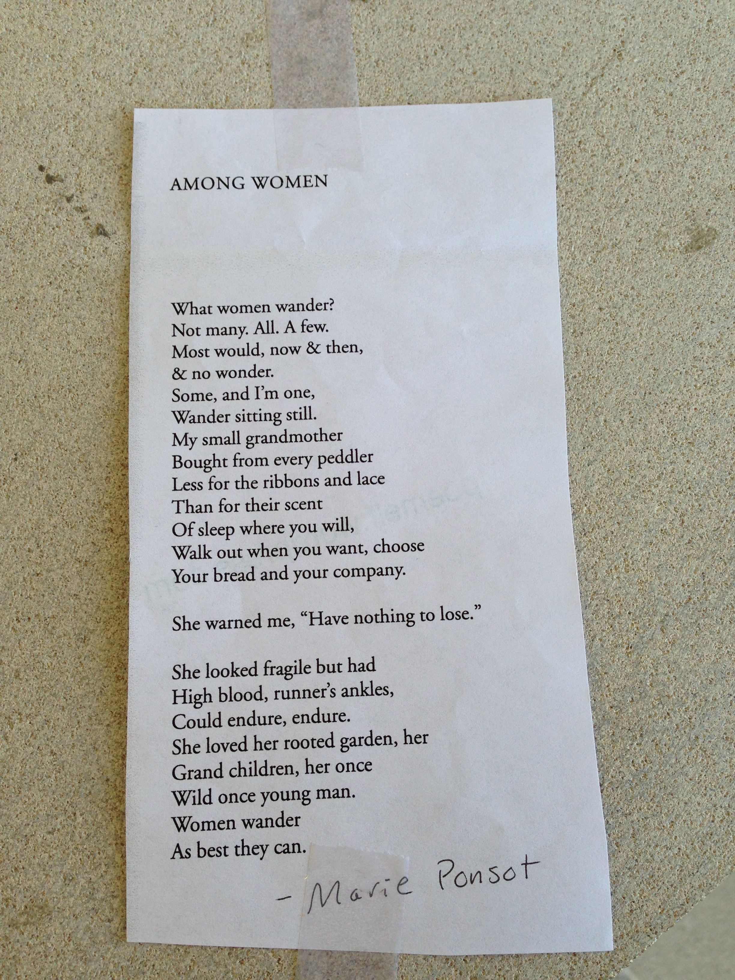 "Image of ""Among Women"" by Mary Ponset"
