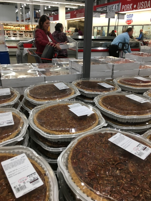 poem is on middle pecan pie